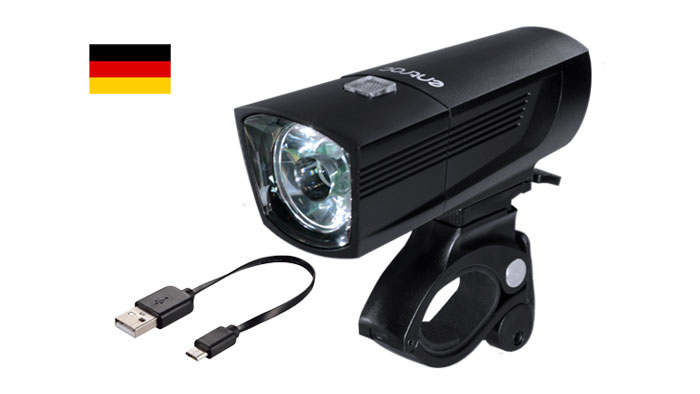 Usb Rechargeable Led Stvzo Bike Headlight Side Visibility Easy