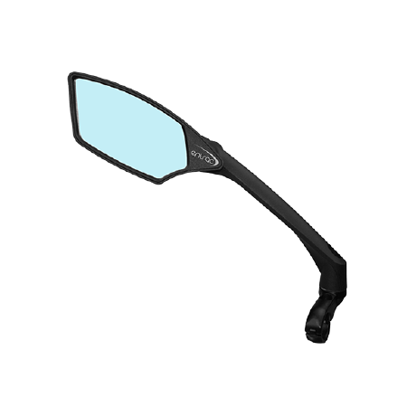 bike mirror, anti-glare, shatterproof, scratchproof, foldable, aerodynamic arm